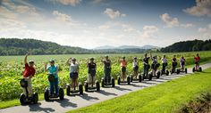 Team corecubed having a little Segway fun at the Biltmore in Asheville, NC