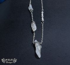 Stone crystal jewelry necklace. White crystal. Transparent crystal. Bridal stone jewelry necklace. - pinned by pin4etsy.com