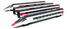 "HL1660 ETR610.10 in livrea ""ICN"" bianco/rossa con logo SBB-CFF-FFS."