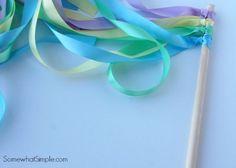 Ribbon Wands | 15 Fun DIY Arts and Crafts for Kids