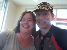 My Classmate ( Ann Marie Dust ) From West County Tech  Reunited With Me And Got An Mc.Selfie!