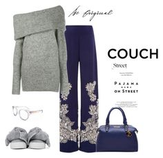"""Take your comfort zone with you"" by juliabachmann ❤ liked on Polyvore featuring Joshua's, Jonathan Simkhai, Acne Studios and Vision"