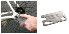 Bike tool business card design