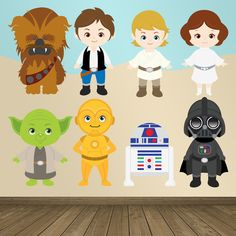 Vinilos Infantiles: La Guerra de las Galaxias #friki #TeleAdhesivo