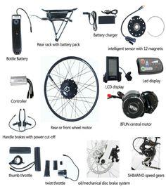 e-bike conversion bag Power Out, Electric Bicycle, Bike, Green, Travel, Electric Push Bike, Bicycle, Viajes, Bicycles