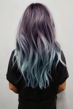 I love these steely pastels! I'd love to do it, but don't think I could pull it off haha