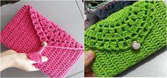 Olá meninas hoje venho compartilhar com vocês a receita de carteira em crochê em um ótimo passo a passo vocês vão adorar vamos lá ?