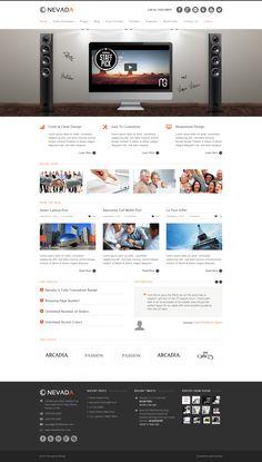 Nevada Wordpress Theme http://themeforest.net/item/nevada-responsive-multipurpose-theme/3087951?ref=wpaw #wordpress #web #design
