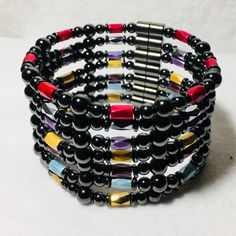 High power magnetic hematite anklets.  Choose your color or colors for spring!