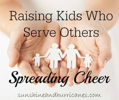 Kids Who Serve Others- Spreading Cheer - Sunshine and Hurricanes