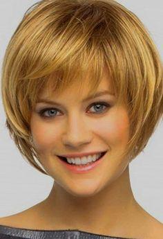 Krótkie fryzury warstwowe dla cienkich włosów krótkie fryzury Layered Style Hair Idei