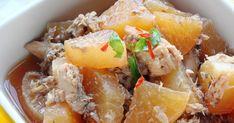 レンジで簡単下ごしらえ&土鍋で煮込んで出来上がり♪ 大根の水分だけで煮込むから、うま味濃縮。サバ缶ダイエットにも!