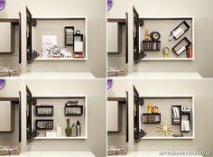 Soggiorno con porta tv orientabile Creative side - DIOTTI A&F Arredamenti