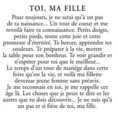 French Quotes, Phrases, Super Mom, Thalia, Perspective, Encouragement, Parents, Mary, Wisdom
