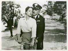 Gina Lollobrigida y Vittorio de Sica