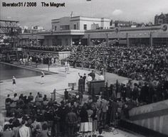 New Brighton baths, beauty pagent (from The Magnet) #baths #swimming #pool #newbrighton #lido