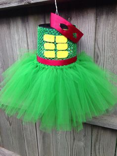 Teenage mutant ninja turtle tutu size infant to by lissylulusbows, $35.00