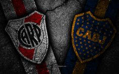 Download wallpapers River Plate vs Boca Juniors, Final, Copa Libertadores 2018, creative, Boca Juniors FC, River Plate FC, black stone River Phoenix, Black Stone, Nate River, Sports Wallpapers, Desktop Pictures, Colorful Wallpaper, Caleb, Accessories, Illustration