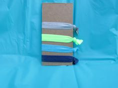Elastic hair ties  *Gray *Lime *Turquoise *Navy *FREE SHIPPING!!!*