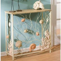 Google Image Result for http://www.beachdecorshop.com/images/P/Shell%2520Half%2520Table.jpg