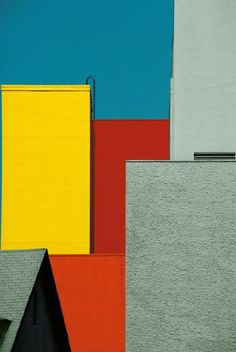 by Franco Fontana / Urban Landscape, Los Angeles,1991