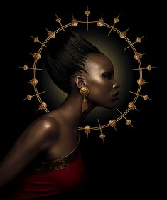 Tanishq aarka jewellery advertising by Sharon Nayak, via Behance Black Girl Art, Black Women Art, Black Art, Black Girl Magic, African Beauty, African Women, African Art, Jewellery Advertising, Portraits