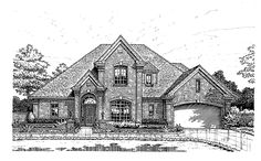 Eplans New American House Plan - Elegant Appeal - 2175 Square Feet and 4 Bedrooms from Eplans - House Plan Code HWEPL05141