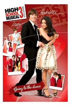 Plakat High School Musical 3 Troy and Gabriella going to the dance High School Musical Costumes, High School Musical Quotes, High School Musical Cast, Disney Channel Original, Disney Channel Shows, Wildcats High School Musical, Serie Disney, Troy And Gabriella, Zac Efron And Vanessa