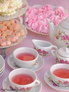 This website has tons of recipes for a tea party! They're absolutely adorable, but it depends on how much work we want to do :)