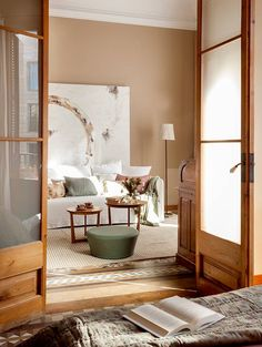 The owner of this unique historical apartment in Barcelona has very special feelings about her dwelling. She bought this flat 14 years ago, her children ✌Pufikhomes - source of home inspiration Home Room Design, Home Interior Design, House Design, Beautiful Home Designs, Beautiful Interior Design, Decorating Your Home, Interior Decorating, Diy Zimmer, Dream Furniture