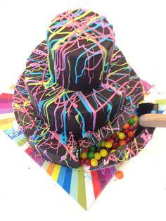 Pinata Cake Recipe - Cinco de Mayo Menu Ideas - Country Living Lekue surprise Cake Kit $35. using candy chocolate