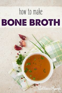 Bone broth is an incredibly nutritious and health-boosting food that is very easy to make. This step by step tutorial shows you how.