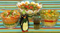 Chleba naszego: Sałatki z makaronem... Hot Dog, Coleslaw, Acai Bowl, Salads, Breakfast, Food, Acai Berry Bowl, Morning Coffee, Coleslaw Salad