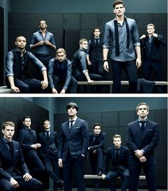 Germany team in Hugo Boss