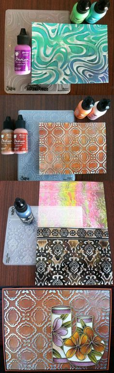 Vintaj Patinas Techniques with Special Guest Blogger Els Van de Burgt from Elizabeth Craft Designs.