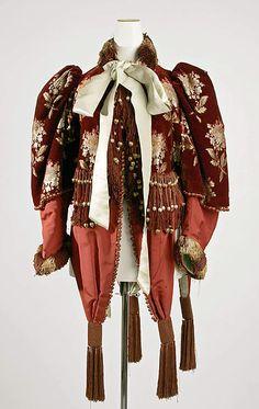 Jacket Date: ca. 1890 Culture: American Medium: silk Accession Number: C.I.40.116.32