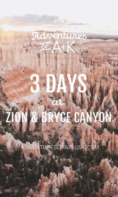 Zion and Bryce Canyon | Zion National Park and Bryce Canyon National Park | Zion and Bryce Canyon Guide | Zion and Bryce Itinerary | Zion Itinerary | Zion Hikes | Bryce Canyon Itinerary | Bryce Canyon Hikes | Things to do at Zion | Things to do at Bryce Canyon | Where to stay at Zion | Where to stay at Bryce Canyon | Zion to Bryce Canyon | Zion National Park to Bryce Canyon