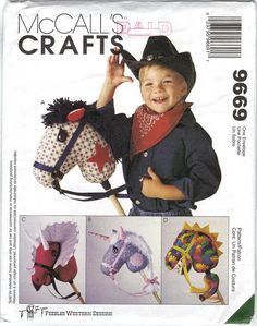 @Virginia Kraljevic Kraljevic sharma - Hobby Horse Sewing Pattern McCall's