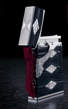 S T Dupont Samurai Line 2 Lighter. Extremely Limited Edition. Only one left at Bonita Smoke Shop