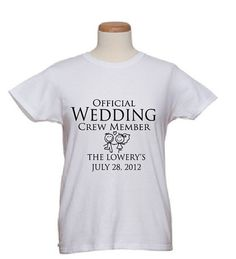 Our Bridal T Shirts Are Handmade For The Entire Party Choose From A Variety Of Tees Or Have Graphic Artist Create