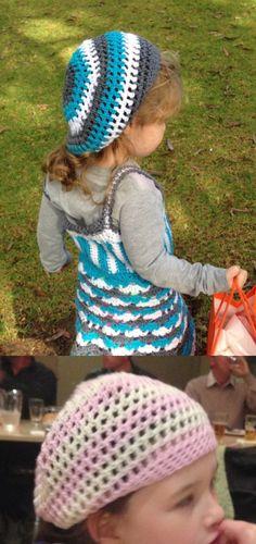 #Berets, berets and more berets!! #FreePattern #Crochet