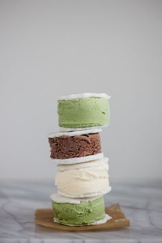 Mochi Ice Cream Sandwiches with Homemade Mochi — Madeline Hall