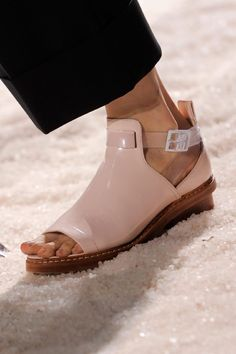 shoes @ 3.1 Phillip Lim Spring 2014 #NYFW