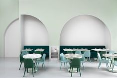 Completed in 2017 in Chengdu, China. Images by James Morgan. Filmmaker Wes Anderson's distinctive visual style provided the inspiration for The Budapest Café in Chengdu, China. Our design draws on Anderson's. Cafe Bar, Cafe Restaurant, Restaurant Design, Modern Restaurant, Mary Winchester, Colorful Interior Design, Colorful Interiors, Color Interior, Chengdu