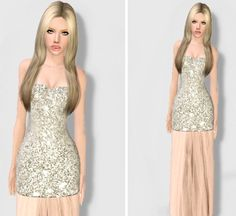 Spotlight gown by Bill Sims - Sims 3 Downloads CC Caboodle