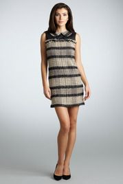 Love this minus the peper pan collar!!  Tweed Mod Shift Dress