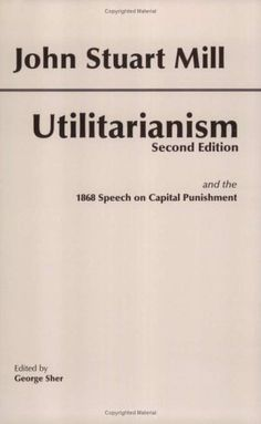I heard about Utilitarianism when I listen to Sandel's Justice class. This book might help me understand this theory better.