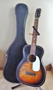 Vintage Silvertone guitar