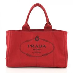 39b75c7bf19f Cloth tote. Prada HandbagsPurses And HandbagsLuxury ConsignmentLeather ...