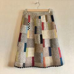 Crochet Skirts, Knit Skirt, Knit Crochet, Baby Knitting Patterns, Hand Knitting, Tapestry Crochet, Crochet Designs, Knitwear, Skirts